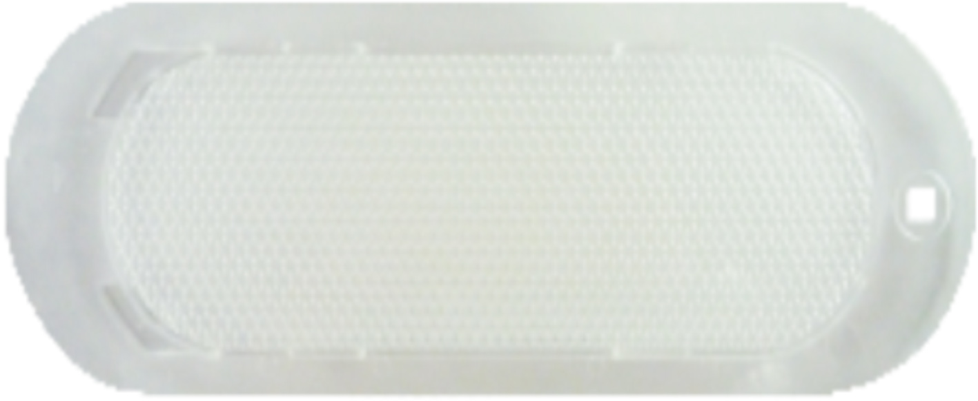 Oval light film (diamond surface - square hole)