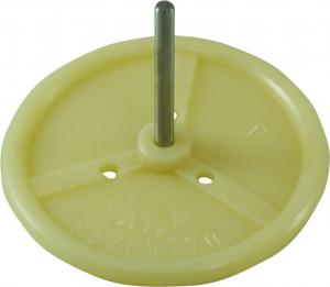 Water dish with a pneumatic heart - plastic