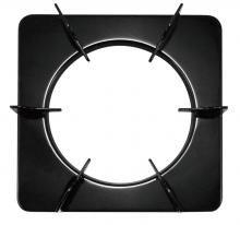 Heightened enamel square oven rack (height and low / 2 entry)